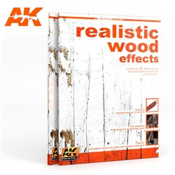 AK INTERACTIVE AK259 Realistic Wood Effects (AKLEARNING Series Nº1) English