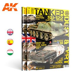 "AK INTERACTIVE AK4817 TANKER 03 ""DUST & RUST"" - ENGLISH"