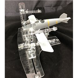 VERTIGO VMP008 EVO BI 3224 Gabarits de montage pour avion biplan à l'échelle 1/32, 1/24 et 1/48