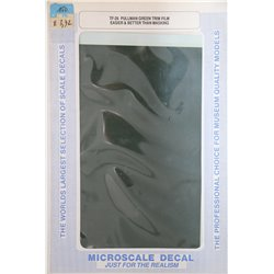 MICROSCALE TF-26 Trim Film - Pullman Green FS 14081