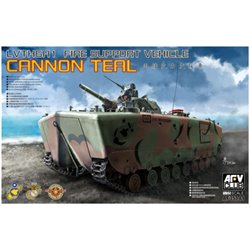 AFV CLUB AF35141 1/35 LVTH6A1 Fire Support Vehicle Cannon Teal