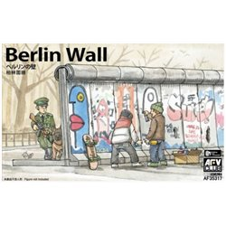 AFV CLUB AF35317 1/35 Berlin Wall (3 Pieces)