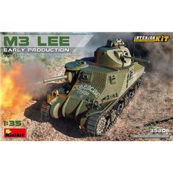 MINIART 35206 1/35 M3 Lee - Early Production Interior Kit