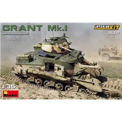 MINIART 35217 1/35 Grant Mk.I Interior Kit