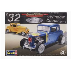 REVELL 85-4228 1/25 '32 Ford 5-Window Coupe 2'n1 Special Edition