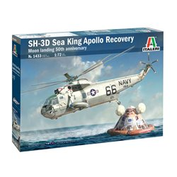 ITALERI 1433 1/72 SH-3D Sea King Apollo Recovery