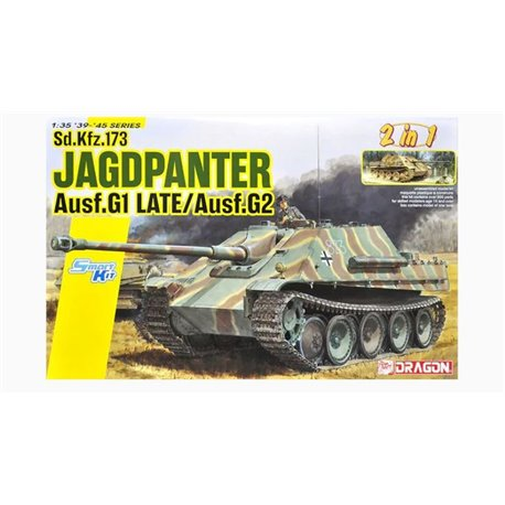 DRAGON 6924 1/35 Jagdpanther Ausf.G1 Late Production / Ausf.G2 2 in 1