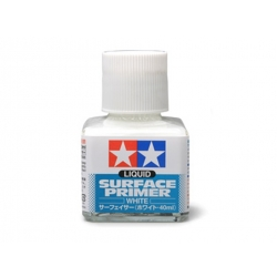 TAMIYA 87096 Tamiya Liquid Surface Primer (White/40ml)