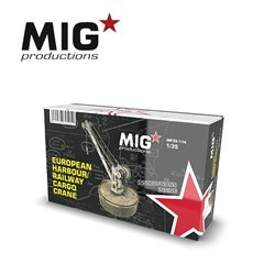 MIG PRODUCTIONS MP35-114 1/35 EUROPEAN HARBOUR / RAILWAY CARGO CRANE