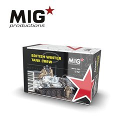 MIG PRODUCTIONS MP72-093 1/72 BRITISH WINTER TANK CREW