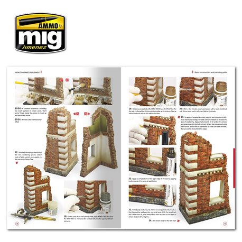 AMMO BY MIG A.MIG-6135 HOW TO MAKE BUILDINGS Anglais