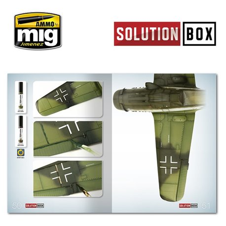 AMMO BY MIG A.MIG-6502 WWII LUFTWAFFE LATE FIGHTERS SOLUTION BOOK