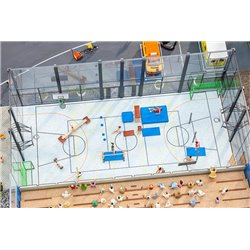 FALLER 180354 HO 1/87 Aménagement de salle de sports - Sports hall equipment