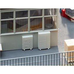 FALLER 180976 HO 1/87 13 Climatiseurs - 13 Air conditioners