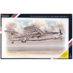 "SPECIAL HOBBY SH72060 1/72 Fairey Barracuda Mk.III ""with Radar ASV Mk.X"""