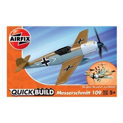 AIRFIX J6012 1/39 Quick Build Messerschmitt 109