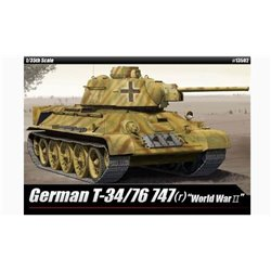 ACADEMY 13502 1/35 German T-34/76 747(r)