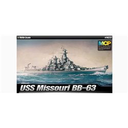 ACADEMY 14222 1/700 USS Missouri BB-63 Multi-Color Parts