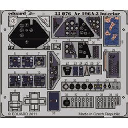 EDUARD 33076 Photo Etched 1/32 Ar 196A-3 interior S. A. For Revell