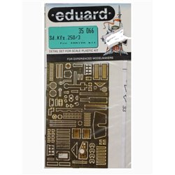 EDUARD 35066 Photo Etched 1/35 Sd.Kfz.250 /3 For Tamiya