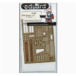 EDUARD 35087 Photo Etched 1/35 SPW Marder 1A2 for Tamiya
