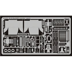 EDUARD 35673 Photo Etched 1/35 M-10 Duckbill extetior For Academy