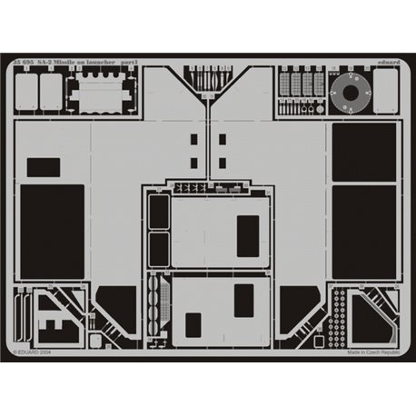 EDUARD 35695 Photo Etched 1/35 SA-2 Missile on launcher For Trumpeter