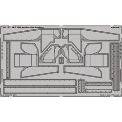 EDUARD 36155 Photo Etched 1/35 M-7 Mid production fenders For Dragon