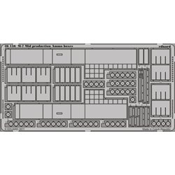 EDUARD 36156 Photo Etched 1/35 M-7 Mid production Ammo boxes For Dragon