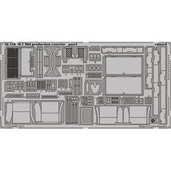 EDUARD 36158 Photo Etched 1/35 M-7 Mid production exterior For Dragon