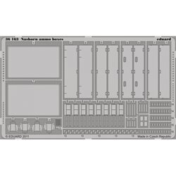 EDUARD 36163 Photo Etched 1/35 Nashorn ammo boxes For AFV Club