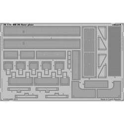EDUARD 36175 Photo Etched 1/35 BR 86 floor plate For Trumpeter
