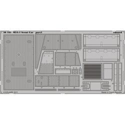 EDUARD 36181 Photo Etched 1/35 M-3A1 Scout Car For Hobby Boss