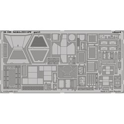 EDUARD 36189 Photo Etched 1/35 Sd. Kfz.223 LPF For Hobby Boss