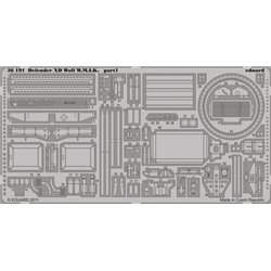 EDUARD 36191 Photo Etched 1/35 Defender XD Wolf W. M.I. K. For Hobby Boss