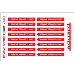EDUARD 49068 Photo Etched 1/48 Remove Before Flight FABRIC