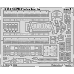 EDUARD 49694 Photo Etched 1/48 S-30M-2 Flanker interior S. A. For Academy