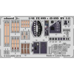 EDUARD 49699 Photo Etched 1/48 Blohm & Voss BV 141 - S.A. PE Details
