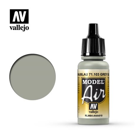 Vallejo 71.103 Model Air Gris Bleu RLM84 - Gris 17ml