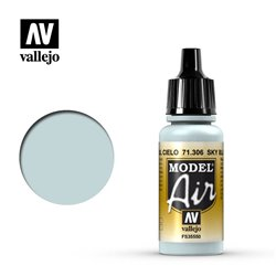 Vallejo 71.306 Model Air Bleu Ciel - Sky Blue 17 ml