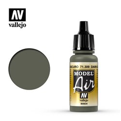 Vallejo 71.309 Model Air Gris Ardoise Foncé – Dark Slate Grey 17 ml