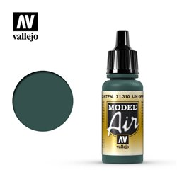 Vallejo 71.310 Model Air IJN Vert Foncé – IJN Deep Dark Green 17 ml