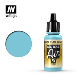 Vallejo 71.317 Model Air AII SV. Gol Bleu Clair - AII SV. Gol Light Blue 17 ml