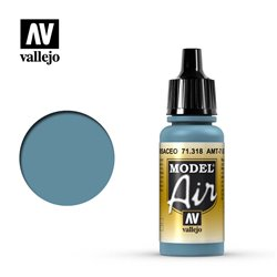 Vallejo 71.318 Model Air AMT-7 Bleu Grisâtre – AMT-7 Greyish Blue 17 ml