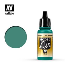 Vallejo 71.331 Model Air Cockpit Vert Emeraude Passé - Green Faded 17ml
