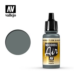 Vallejo 71.336 Model Air A-14 Gris Acier – Steel Grey 17ml