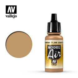 Vallejo 71.348 Model Air USAF Tan 17ml
