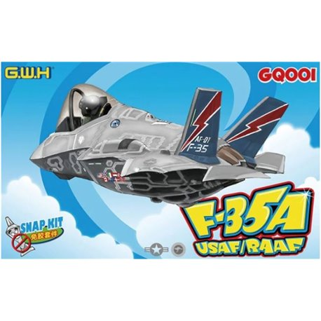 GREAT WALL HOBBY GQ001 Egg F-35A USAF/RAAF*
