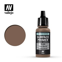 VALLEJO 70.626 Surface Primer Leather Brown Primer 17 ml.