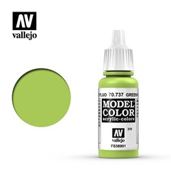 Vallejo 70.737 Model Color 210 Green Fluo 17ml